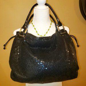 White House Black Market Sequin Shoulder Bag
